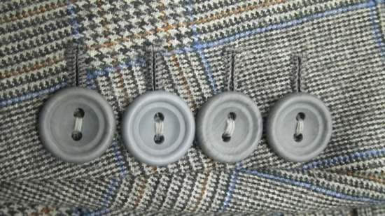 Two Hole buttons