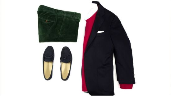 Outfit 1: Corduroy