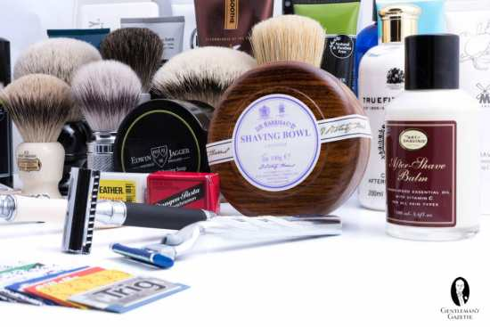 Various Shaving Products