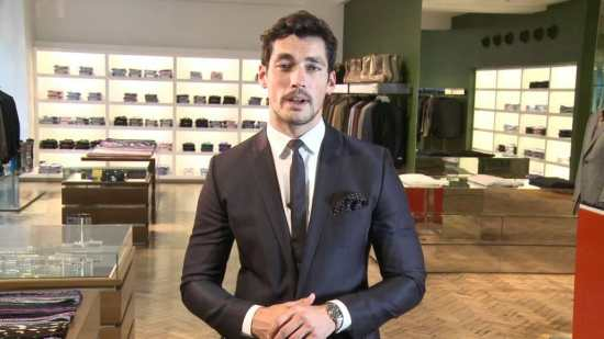 Gandy and his Omega Speedmaster, one of his passions