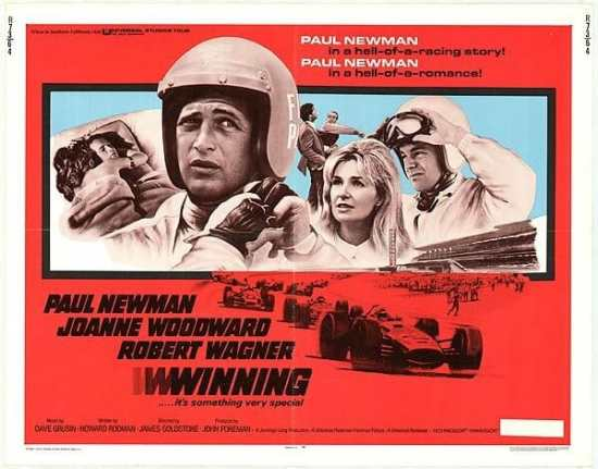 A poster of the Winning! movie