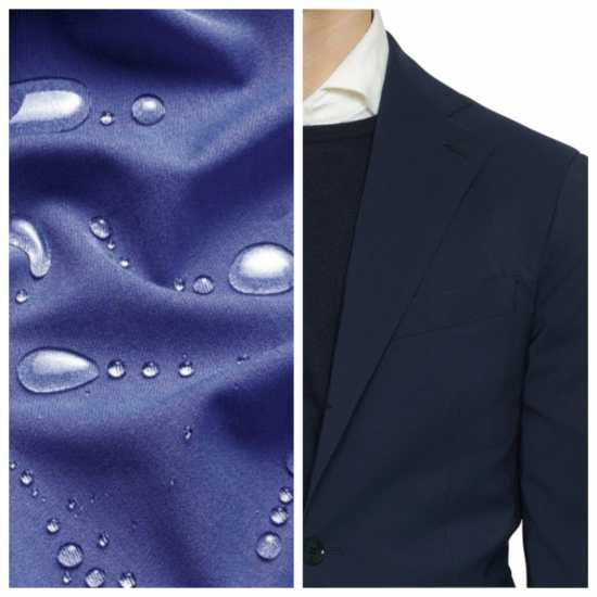 Loro Piana's Storm System fabric in the form of a sports coat.
