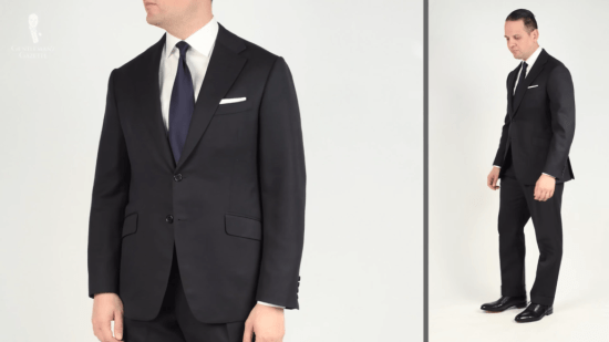 Sven Raphael's go-to suit when travelling