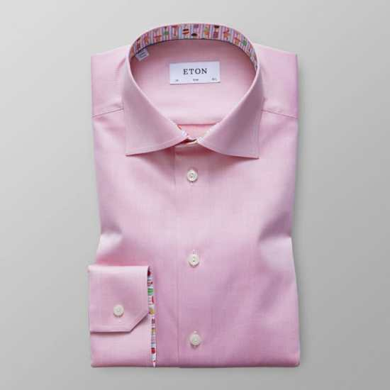 Eton dress shirt in pink