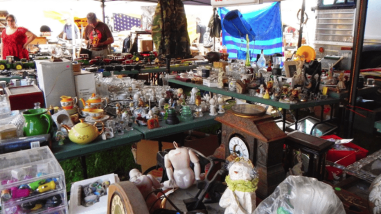 Antique show in Brimfield