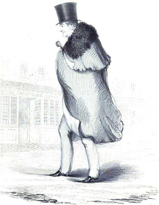 Beau Brummell as an Old Man