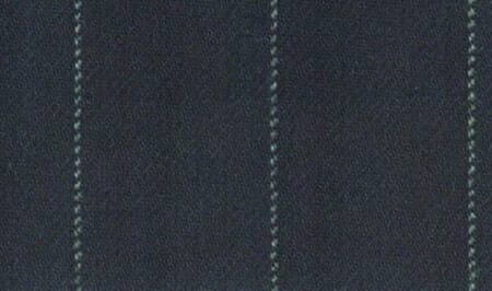 An example of beaded stripes; grey on a dark charcoal background.