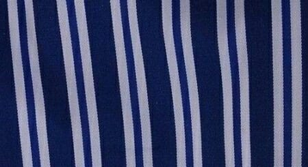 An example of halo stripes. in indigo.