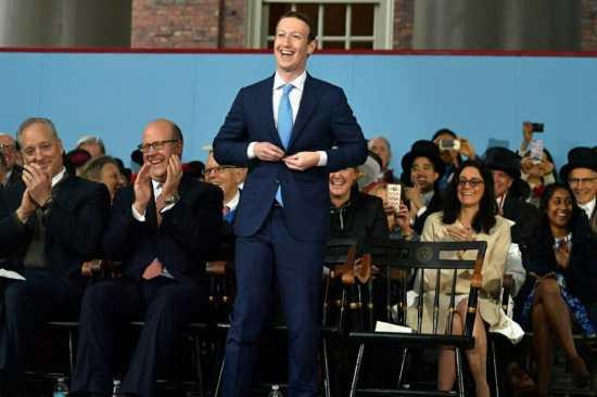 Mark Zuckerberg in a suit