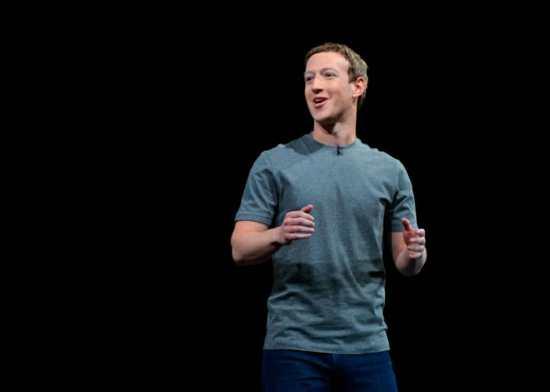 Mark Zuckerberg in a t-shirt