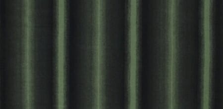 An example of ombré stripes; a green gradient on a black background.