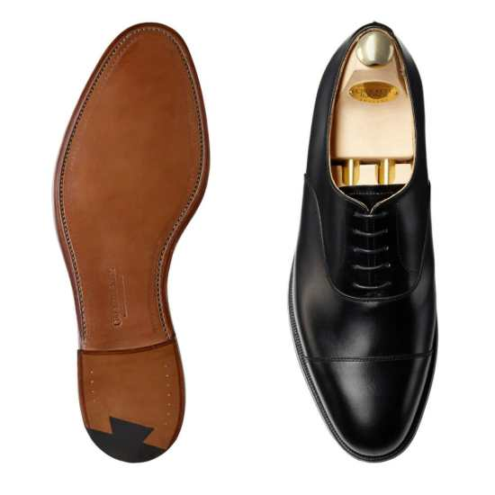 Crockett and Jones Connaught black oxfords