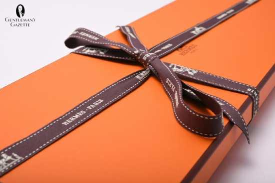 Hermes tie box