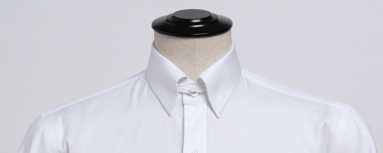 Tab-collar shirt