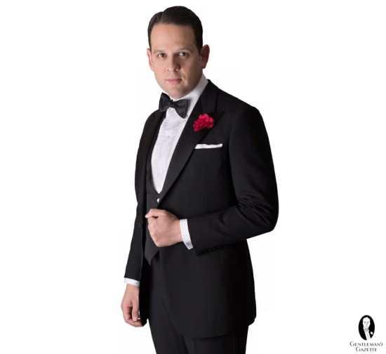 Classic Black Tie Tuxedo