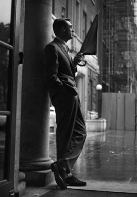 Relaxed Cary Grant