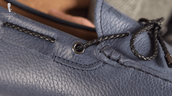 A closer look at Tod's mocs