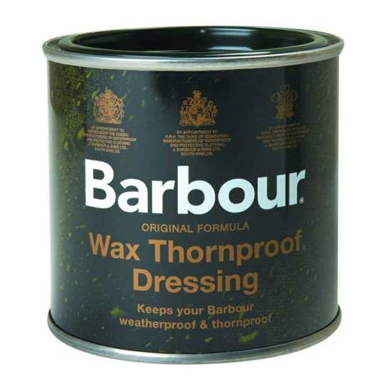 Barbour silk oil wax