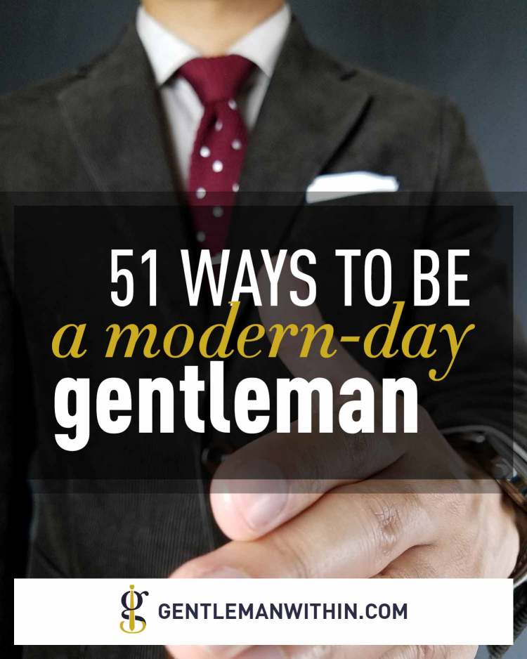 How To Be A Gentleman | GENTLEMAN WITHIN