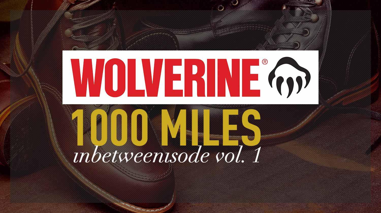 1000 Mile Original Logo Sock
