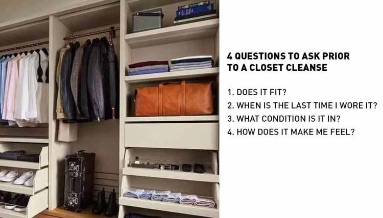 4 Questions Closet Cleanse