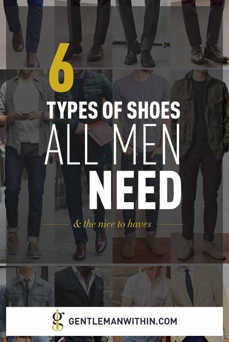 Essential Shoes For Men | GENTLEMAN WITHIN