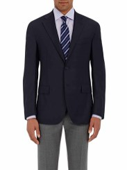 Barney's New York Navy Blazer