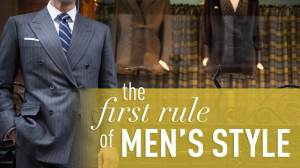 The First Rule of Men's Style (That You Don't Want to Break) | Gentleman Within