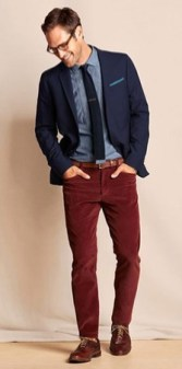 Corduroy Pants Look 3