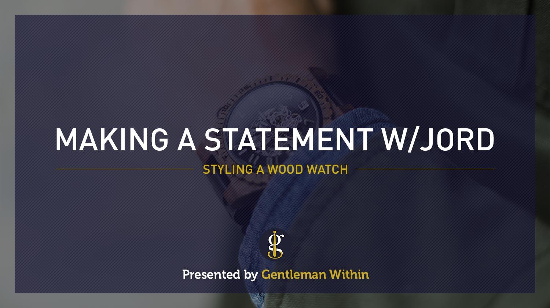 Making A Statement