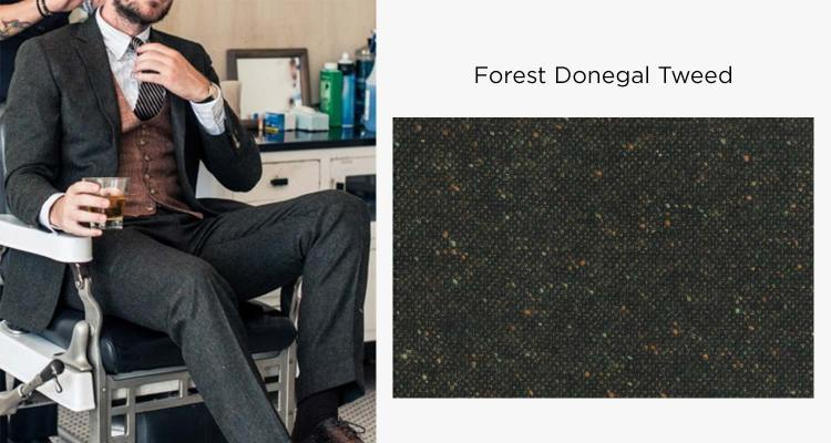AoS Forest Donegal Tweed Suit   GENTLEMAN WITHIN