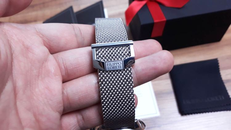 Filippo Loreti Mesh Watch Strap