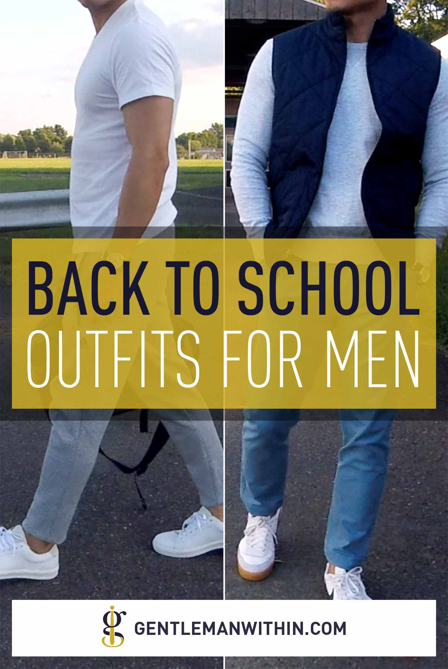 Stylish Back to School Outfits for Men