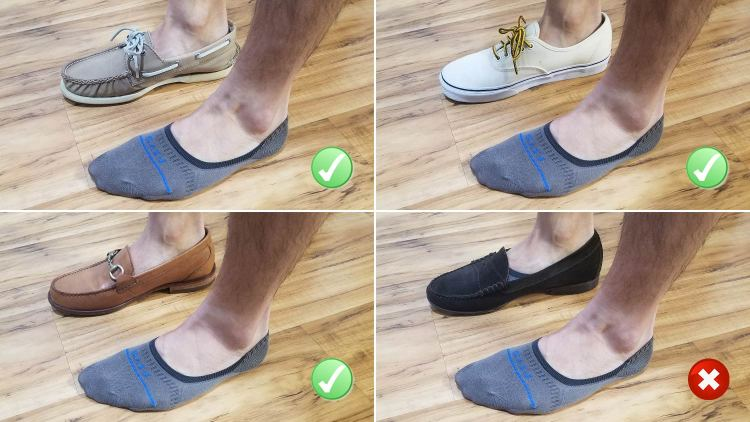 FITS Socks No Show Socks Test