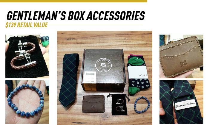 Gentleman's Box Accessories Giveaway