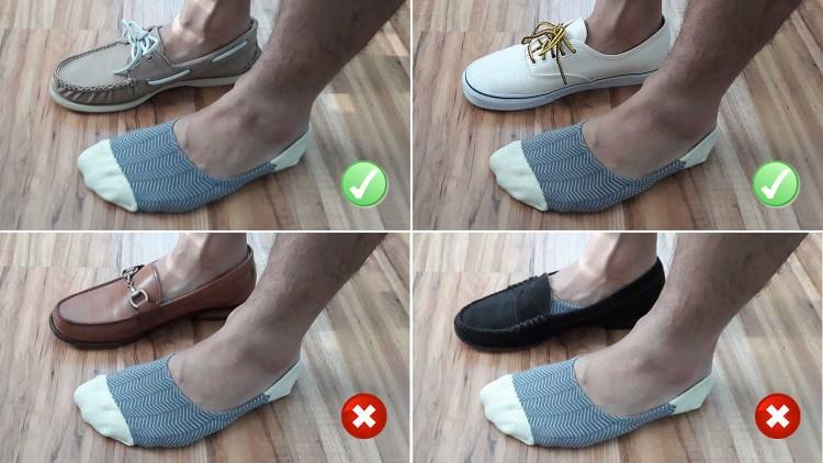Taft No Show Sock Test