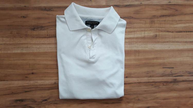 Banana Republic Luxe Touch Polo Shirt