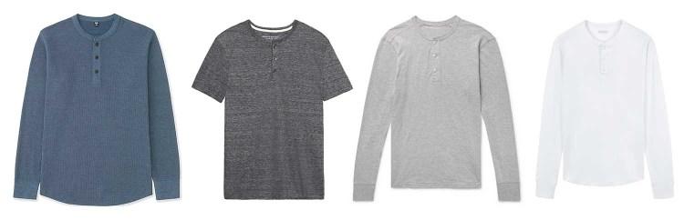 Henley Shirts