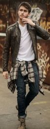 How To Wear A Flannel Shirt 2
