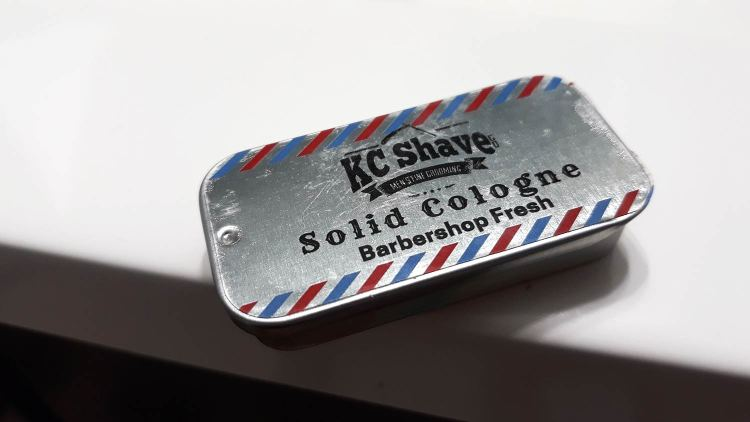 KC Shave Co Solid Cologne