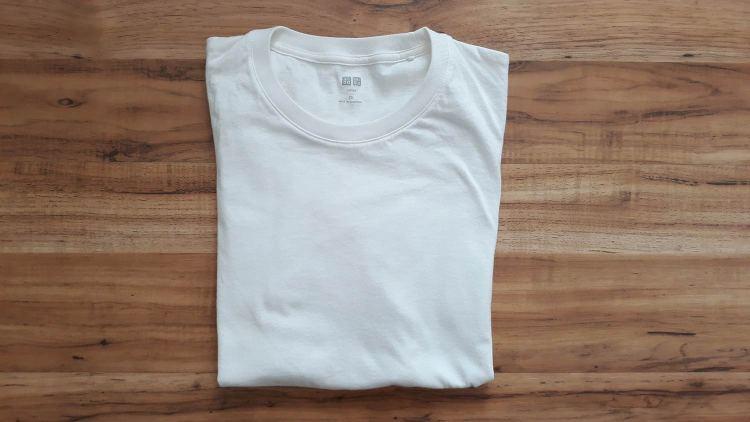 UNIQLO Supima Cotton White T-Shirt