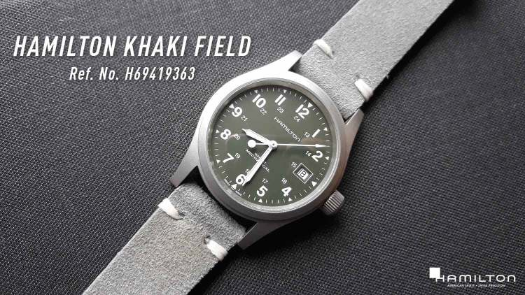 Hamilton Khaki Field Reference Number H69419363