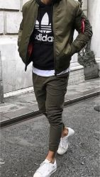 Bomber Jacket Outfit Inspo 2
