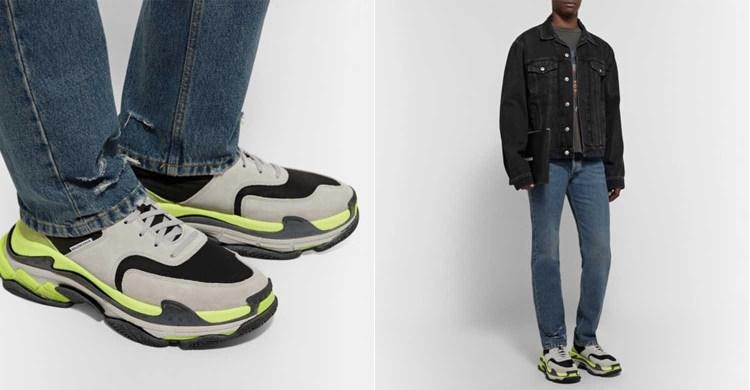 Chunky Sole Sneaker Trend 2