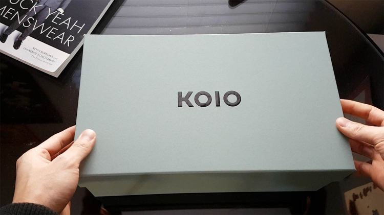Koio Sneakers Packaging Box