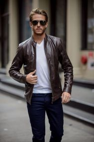 Leather Jacket Outfit Inspo 2