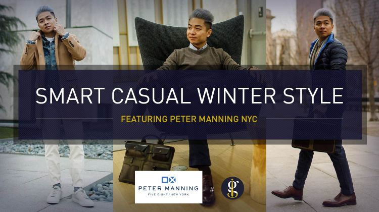 Smart Casual Outfits for Men: Winter Style Inspiration (5 versatile looks) | GENTLEMAN WITHIN