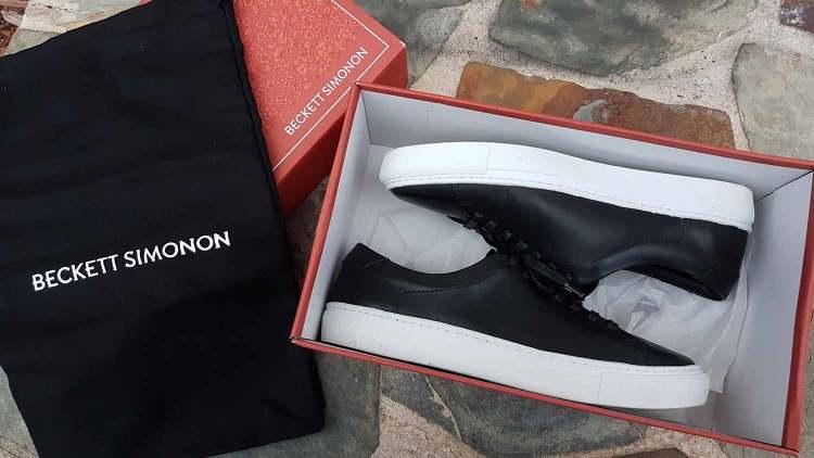 Beckett Simonon Reid Sneaker Packaging
