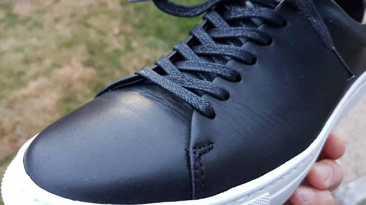 Reid Low Top Leather Creasing