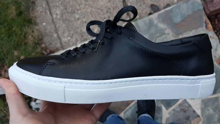 Reid Sneaker Sole Side Profile